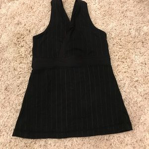 Lululemon pinstriped tank top